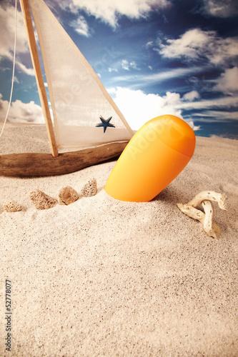 Holiday, summer, beach. © senk