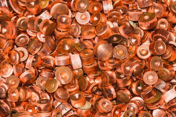 Scrapheap of copper