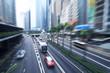 Hong Kong, busy city highway
