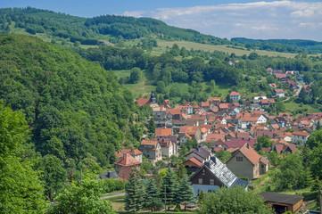 Urlaubsort Steinbach im Thüringer Wald bei Bad Liebenstein