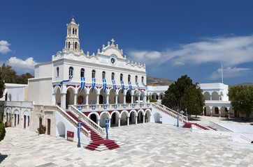 Church of Panagia Evangelistria at Tinos island