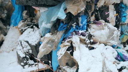 dump, garbage, waste landfills,  polymers
