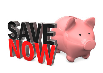Piggy Bank Save Now