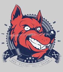 Wolf grin