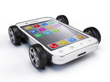 Smartphone on wheels