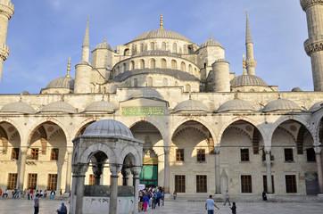 Blue Mosque (Sultanahmet Camii), Istanbul.