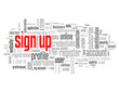 SIGN UP Tag Cloud (register subscribe click here join apply now)