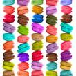 Macarons multicolores vertical