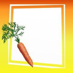 sfondo con carota