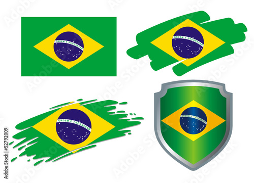 various Flags Brazil