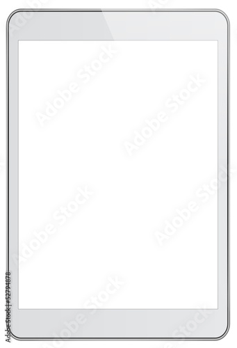 White Business Tablet