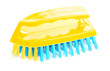 yellow scrubbrush