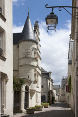 Chinon - strada - Valle Loira