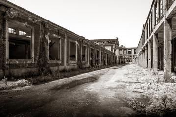 area industriale abbandonata