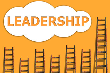 Leadership,wordding about success of business
