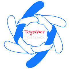 Logo for together