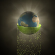 Erde Explosion frei