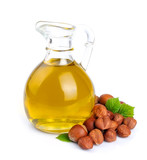 Filbert oil with hazelnuts nuts