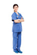 Full length portrait of a nurse