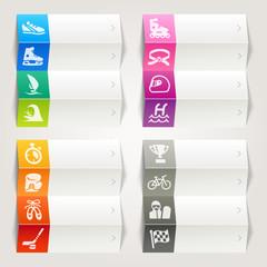 Rainbow - Sports icons