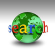 Weltkugel - search