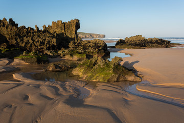 Amoreira beach in South-West Alentejo and Costa Vicentina Natura