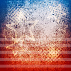 Vintage patriotic background