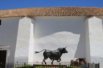 Les arènes de Ronda, Andalousie