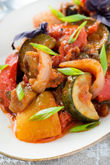 Ratatouille - traditional vegetable stew