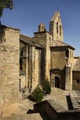 Iglesia pueblo de Navarra, España