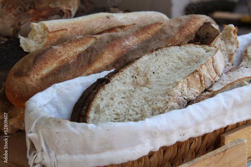 Papiers peints Boulangerie pain de campagne