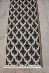 Détail de la moquée Hassan II de Casablanca