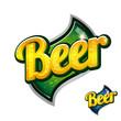 Vintage beer poster sign
