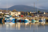 Irish seaport scenery in Dingle, Co. Kerry