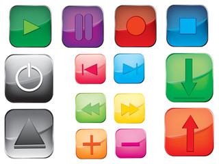 Multimedia button