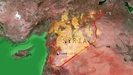 Syria on flames/ This is a clip representing the difficulties of