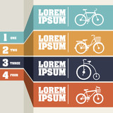Bicycle infographics
