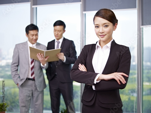 portrait of an confident asian businesswoman