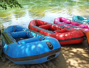 inflatable boat, Rubber boat