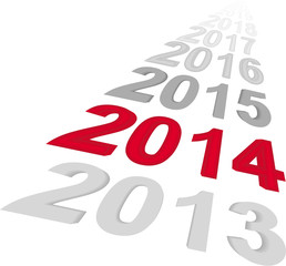 Das neue Jahr 2014