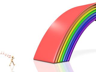 Bridge of rainbow