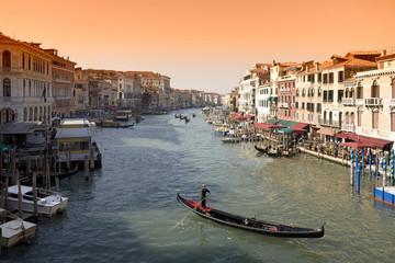 Canale Grande in Venecia