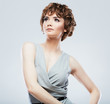 Woman fashion style isolated portrait