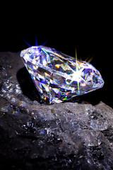 Diamond on coal