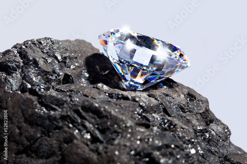 Diamond and Coal - 52823804