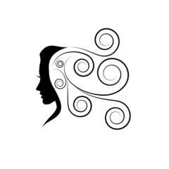 Vector Logo beauty hair