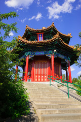 Jifang Pavilion in Beijing