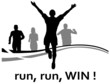 Menschen Gruppe Laufen
