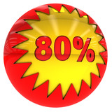 Eighty percent ball