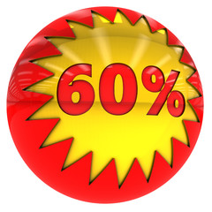 Sixty percent ball